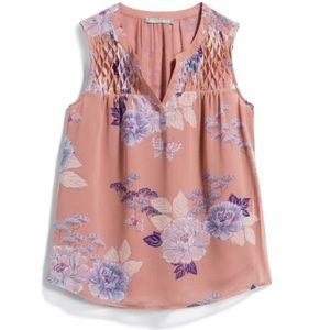 XL Light Pink Sleeveless Daniel Rainn Blouse